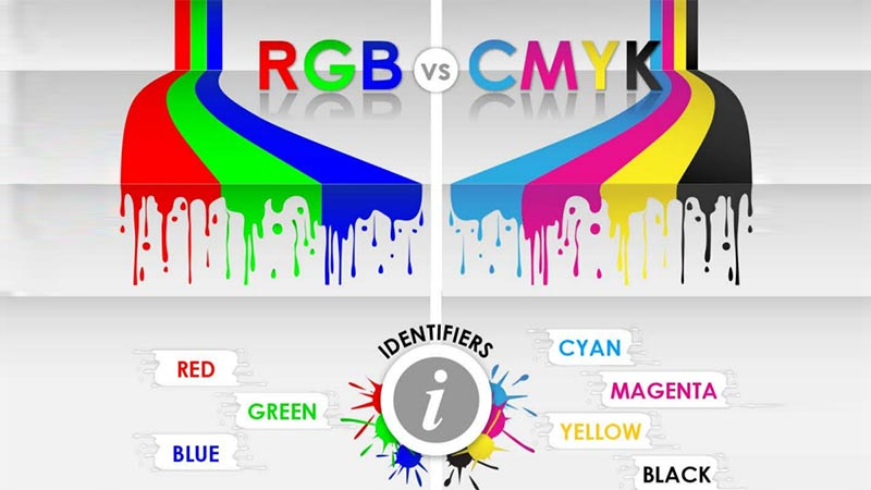 تفاوت RGB و CMYK