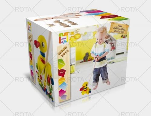 چاپ جعبه اسباب بازی